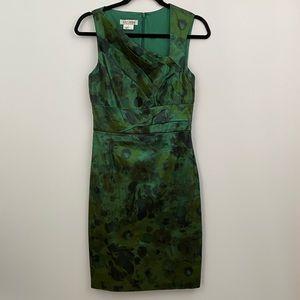 Kay unger green dress sz-6
